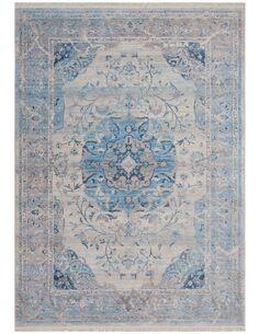 Tapis tissé TIBET NAGQU Bleu - par Arte Espina