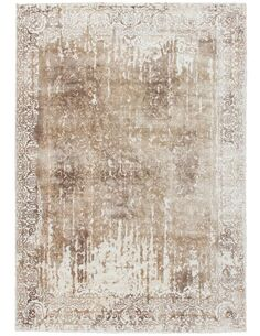 Tapis fait à la main NAMIBIE WINDHOEK Beige - par Arte Espina