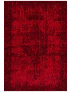 Tapis tissé MONTSERRAT BRADES Rouge - par Arte Espina