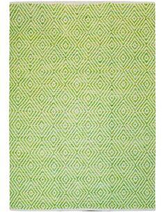 Tapis fait à la main 310 Vert APPETIZER - par Arte Espina