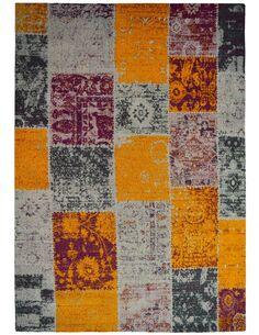 Tapis fait à la main SOLITAIRE 310 Multicolore - par Arte Espina