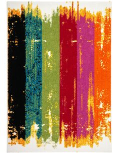 Tapis tissé GUAYAMA 242 Multicolore - par Arte Espina