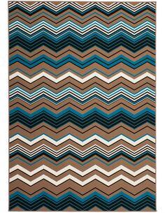 Tapis tissé 900 Multicolore Marron - par Arte Espina