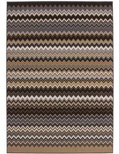 Tapis tissé 700 Multicolore Marron - par Arte Espina