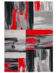 Tapis tissé DOMINIQUE RoseAU Rouge - par Arte Espina