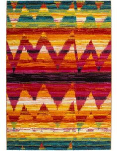 Tapis 245 Multicolore GUAYAMA - par Arte Espina