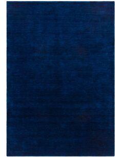 Tapis fait à la main BELIZE BELMOPAN Bleu - par Arte Espina