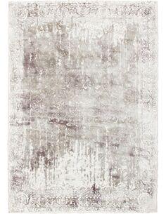 Tapis fait à la main NAMIBIE WINDHOEK Argent - par Arte Espina