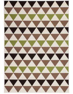 Tapis tissé 800 Multicolore Marron - par Arte Espina