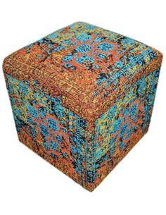 Pouf SOLITAIRE 110 Multicolore - par Arte Espina