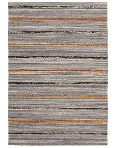 Tapis fait à la main DUARTE 110 Nature Orange - par Arte Espina