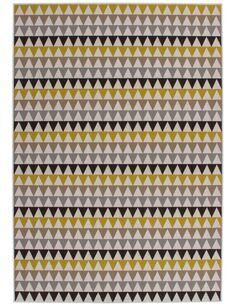 Tapis tissé 500 Multicolore Or - par Arte Espina