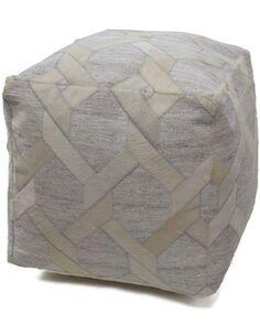 pouf CHIMERA 100 Ivoire - par Arte Espina