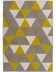 Tapis tissé 200 Multicolore Or - par Arte Espina