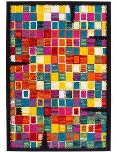Tapis tissé GUAYAMA 275 Multicolore - par Arte Espina