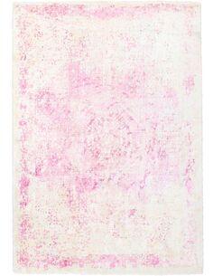 Tapis fait à la main NAMIBIE OTAVI Rose - par Arte Espina