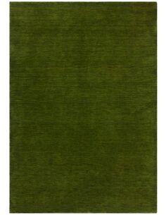 Tapis fait à la main BELIZE BELMOPAN Vert - par Arte Espina