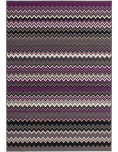 Tapis tissé 700 Multicolore Violet - par Arte Espina
