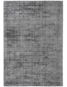 Tapis fait à la main PRESTIGE 110 Gris Anthracite - par Arte Espina