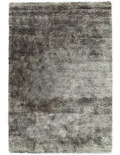 Tapis tufté à la main GRACE SHAGGY BLAUGRAU - par Arte Espina