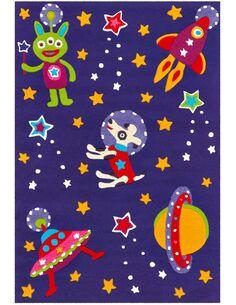 Tapis tissé SPIRIT GLOWY 3144 Violet SPACE - par Arte Espina