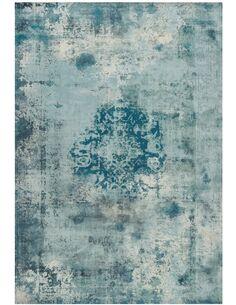 Tapis tufté à la main VINTAGE 8403 PETROL - par Arte Espina