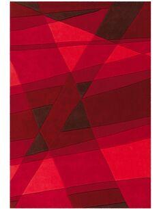 Tapis tissé JOY 4058 Rouge - par Arte Espina