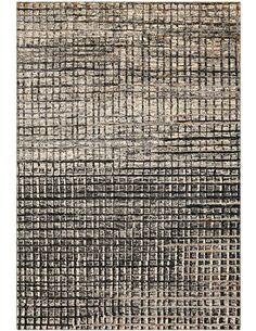 Tapis tissé TOPAZ 5400 GRAU SCHWARZ - par Arte Espina