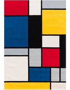 Tapis tissé SPIRIT 3089 Multicolore - par Arte Espina