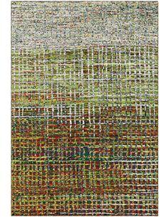 Tapis tissé TOPAZ 5400 GRÜN Beige - par Arte Espina