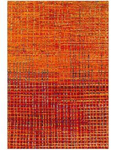 Tapis tissé TOPAZ 5400 Orange - par Arte Espina