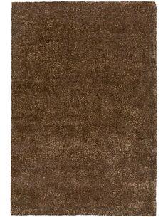 Tapis tissé GRACE SHAGGY Taupe - par Arte Espina