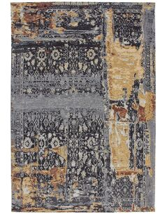 Tapis tissé BLAZE 500 Multicolore BLAU - par Arte Espina