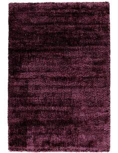 Tapis tissé GRACE SHAGGY Violet - par Arte Espina