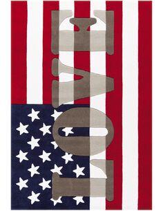Tapis tufté à la main JOY 4129 Multicolore USA - par Arte Espina