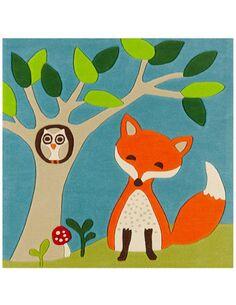 Tapis tissé JOY 4189 Multicolore FOX - par Arte Espina