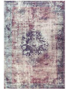 Tapis tissé VINTAGE 8403 Anthracite - par Arte Espina