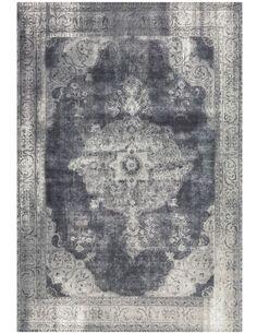 Tapis tissé VINTAGE 8400 GRAU - par Arte Espina