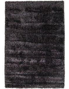 Tapis tissé GRACE SHAGGY Anthracite - par Arte Espina