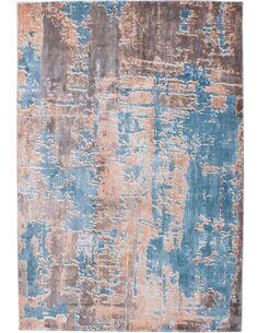 Tapis tissé À LA MAIN OCEAN 300 Multicolore BLAU - par Arte Espina