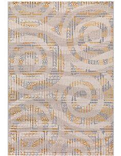 Tapis tissé À LA MAIN JUMP 4601 ELFENBEIN - par Arte Espina