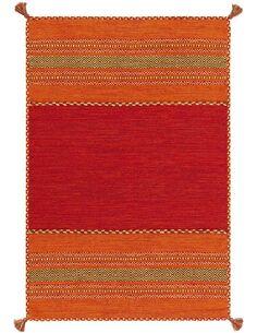 Tapis noué à la main NAVARRO 2920 Rouge - par Arte Espina