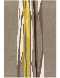 Tapis tissé SPIRIT 3088 Taupe CURRY - par Arte Espina