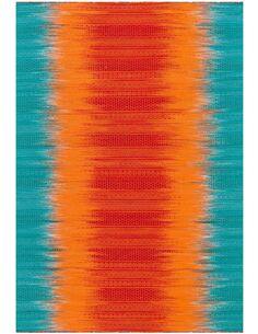 Tapis tissé SUNSET 8070 Orange BLAU - par Arte Espina