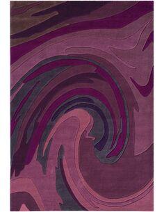 Tapis tufté à la main JOY 4018 Violet - par Arte Espina