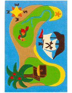 Tapis noué à la main JOY 4192 Multicolore ISLAND - par Arte Espina