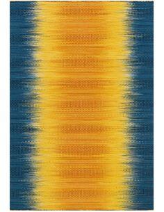 Tapis tissé SUNSET 8070 GELB BLAU - par Arte Espina