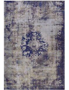 Tapis tissé VINTAGE 8403 BLAU - par Arte Espina