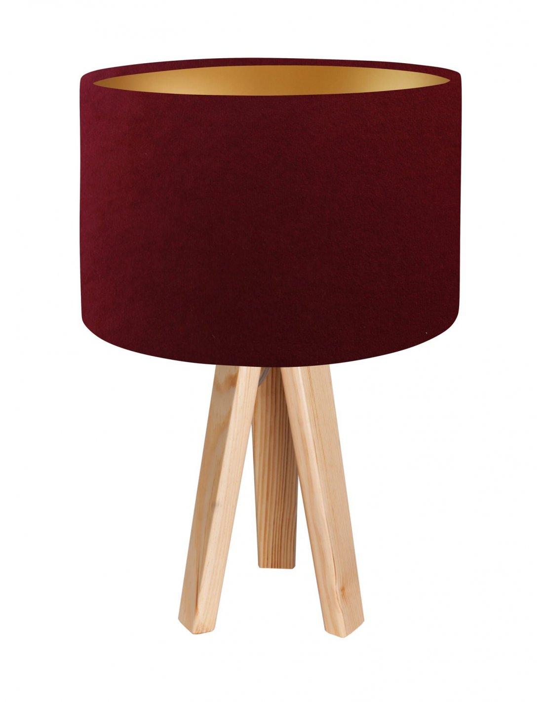Chevet Lampe Foncé Intérieur Koncept Avec Rouge Dorébps De Glamour bvI6fY7gym