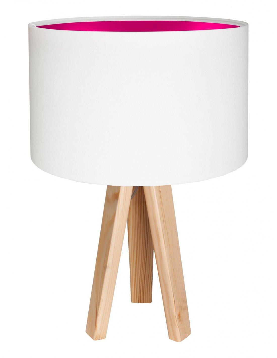 Blanc Intérieur Velours Avec Koncept Lampe Chevet RoseBps De Kids m80ONnwv